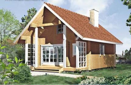 проект небольшого дачного домика