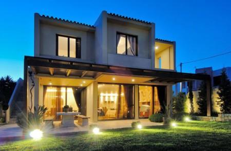 проект освещения загородного дома
