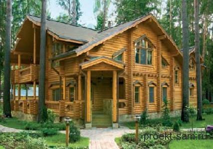 проект сельского дома
