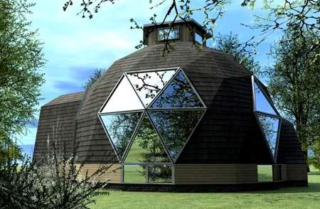проект дома-сферы