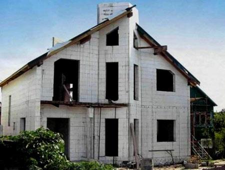 дом из пенополистирола