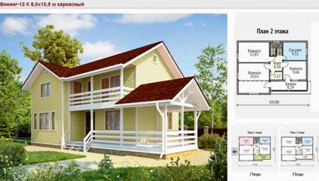проект дома Викинг