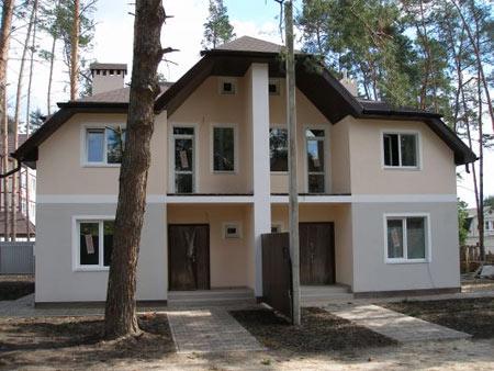 двухэтажный дуплекс дом
