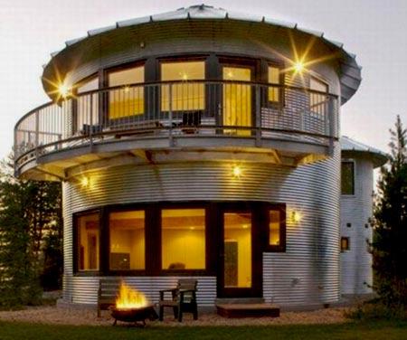 круглый дом башня