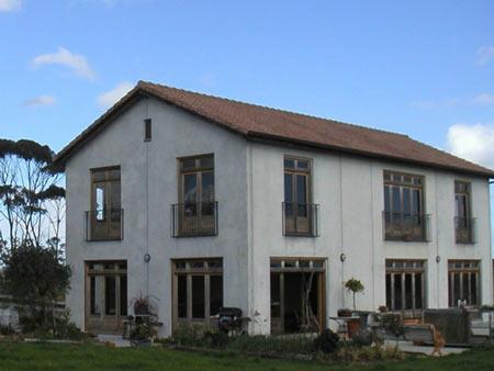 железобетонный дом