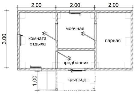 баня 6x3