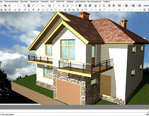 архикад проект дома