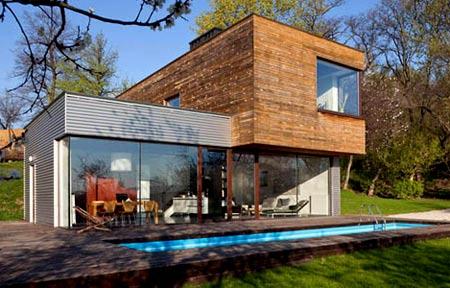 стильный дом из контейнеров
