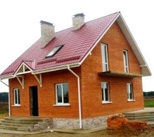дом из кирпича