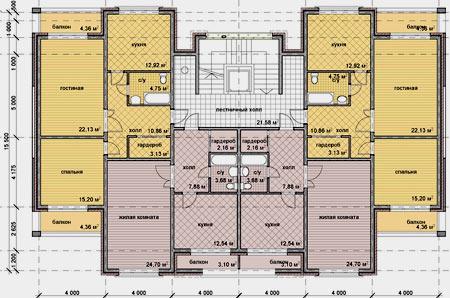 проект многоэтажного дома