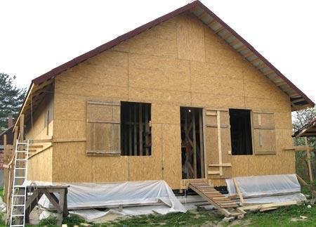 проект щитовой дом