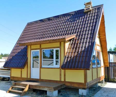 дешевый дом по ЭКОПАН технологии
