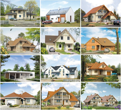проекты домов 200-250 кв. м.