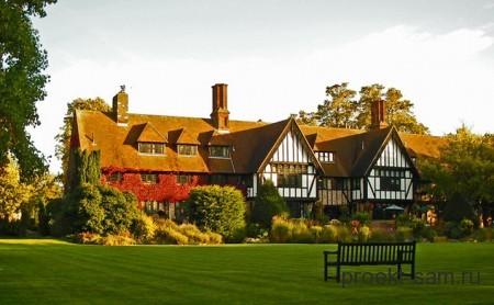 внешний вид английского дома