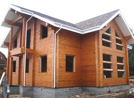 дом профилированный брус