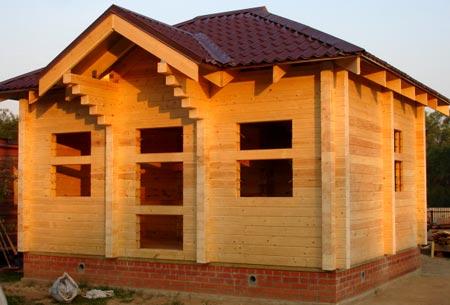проект дом брус