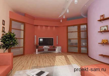 дизайн интерьера квартиры в программе 3d studio max