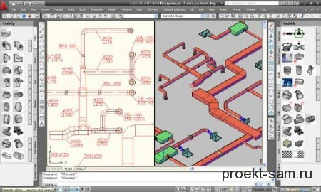 программа для проектирования вентиляции CADvent