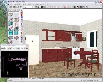 бесплатная программа для проектирования квартиры Дом-3D