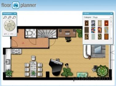 программа для проектирования квартир Floorplanner