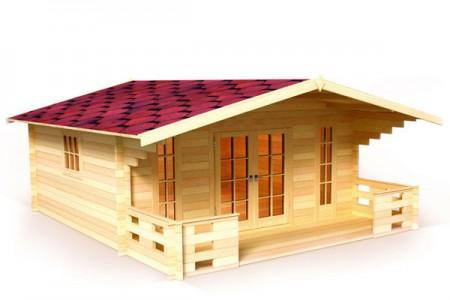 проект простого сборного домика