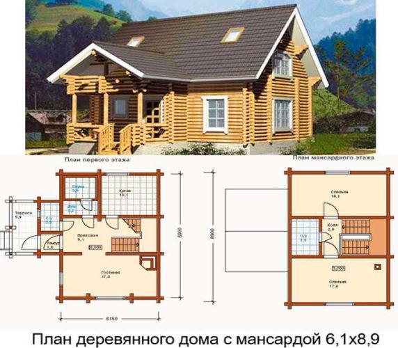 дом на облегченном фундаменте