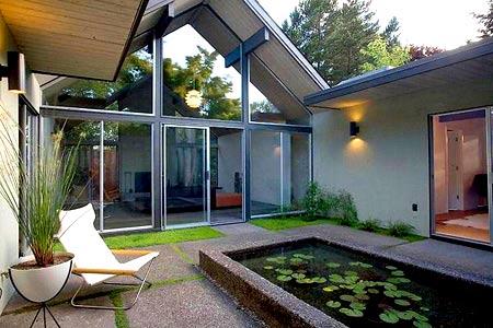 дом с внутренним двориком