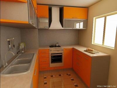 прямоугольная планировка кухни 5.5 кв. м.