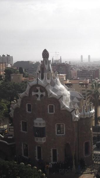 пряничный домик в Барселоне