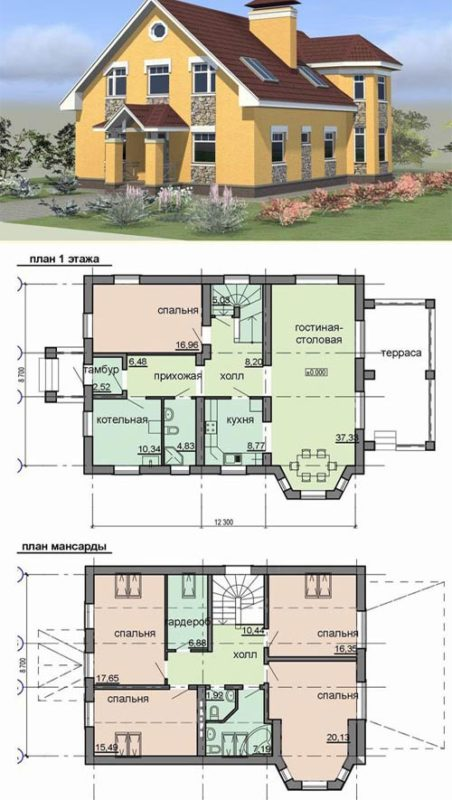 план чешского дома
