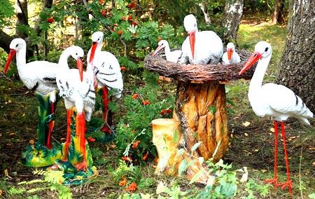 фигуры птиц