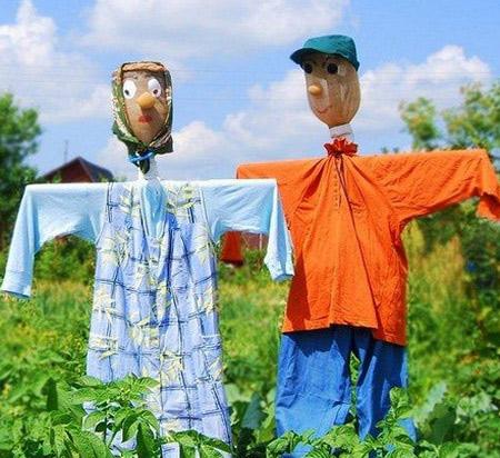 пугало для огорода