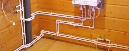 разводка водоснабжения в доме