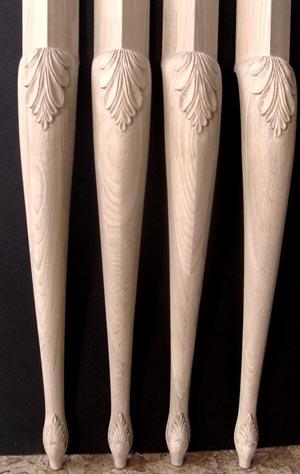 резные ножки кабриоль