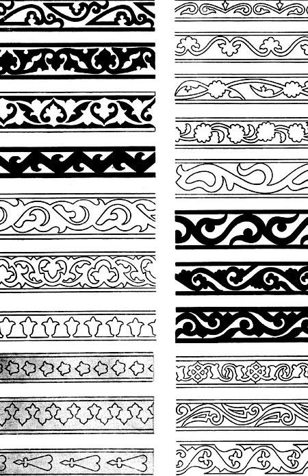 reznoi5 Резьба по дереву геометрические узоры – Геометрическая резьба по дереву: эскизы, рисунки и орнаменты