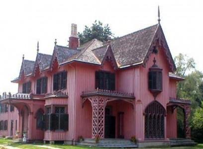 дом в стиле исторический романтизм