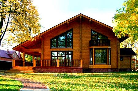 дом с крыльцом
