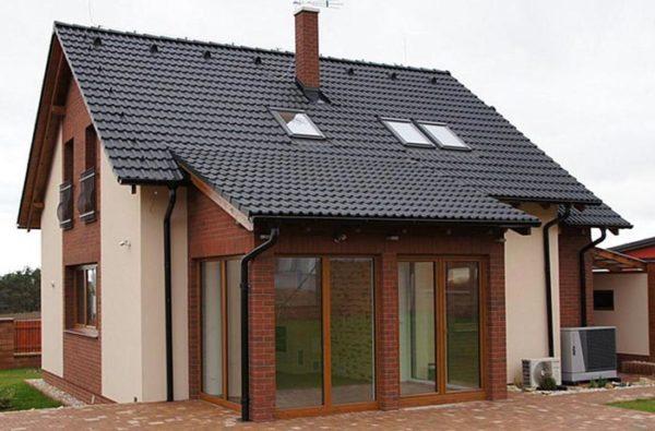 чешский дом с мансардой
