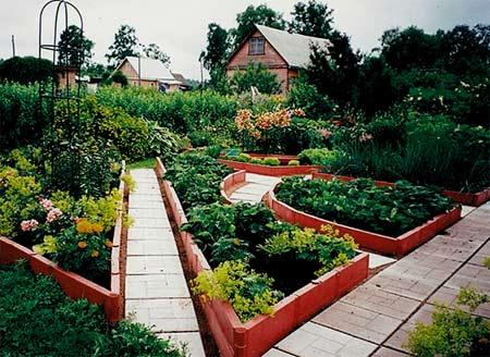 пластиковая садовая доска