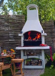 садовая печь