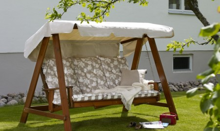 садовые диван-качели