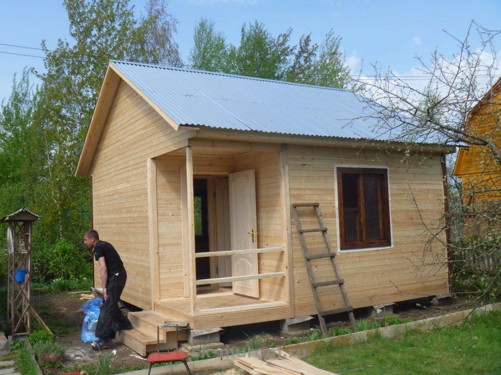 садовый домик 5х5
