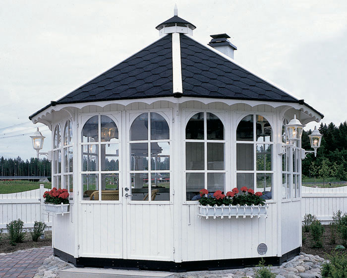 фото садового павильона