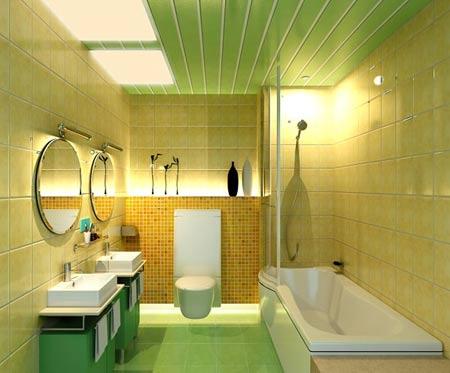 отделка ванной сайдингом