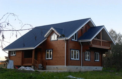 сборный финский дом