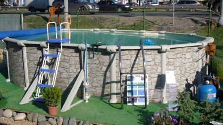 сборный каркасный бассейн