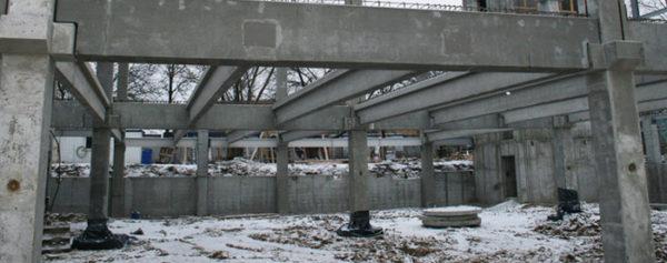 Несущие колонны