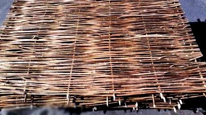 секции плетеного забора