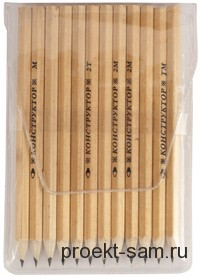 карандаши для черчения конструктор
