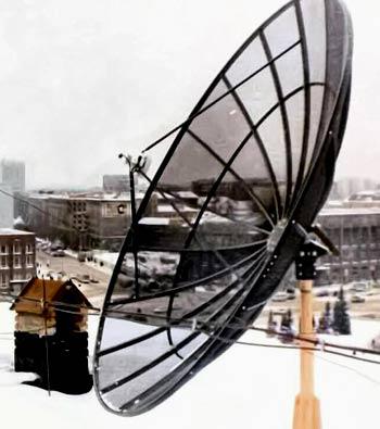 сетчатая антенна